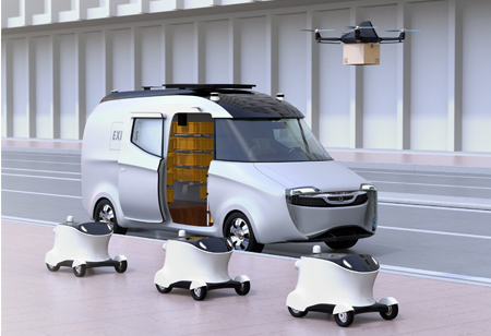 Enhancing Last-Mile Delivery with Robots